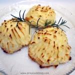 Rosemary Infused Crispy Mashed Potatoes