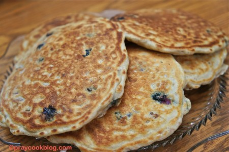 Multigrain Buttermilk Pancakes
