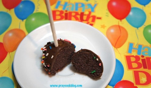 cake pop birthday