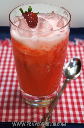 Almost-Famous Strawberry Lemonade