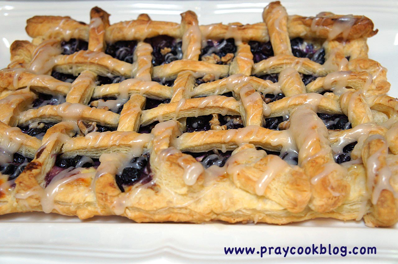 Blueberry Puff Pastry,  Broccoli Straws Breakfast Quiche,  Soul Food Ephesians 4:31
