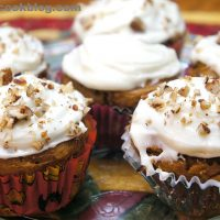 Two Ingredient Pumpkin Spice Cupcakes