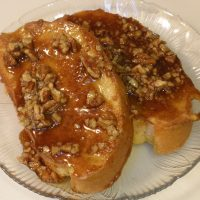 Praline French Toast - New Orleans Style