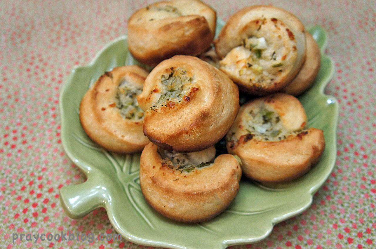 Garlic Parmesan Cheese Rolls & Book Winner