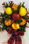 Inspired Colonial Wreaths & The Cookbook Giveaway Continues