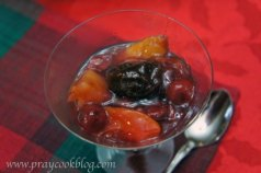 fruit compote single