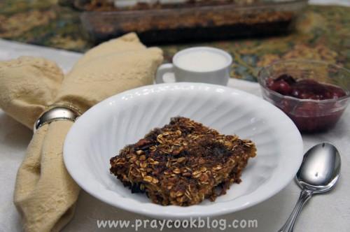 healthified baked oatmeal