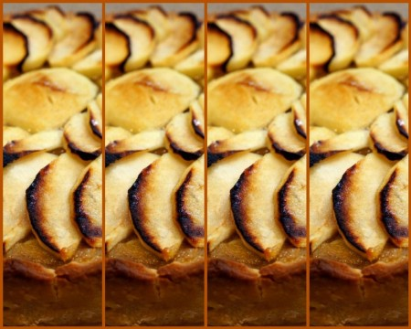 mosaictwd apple french tart
