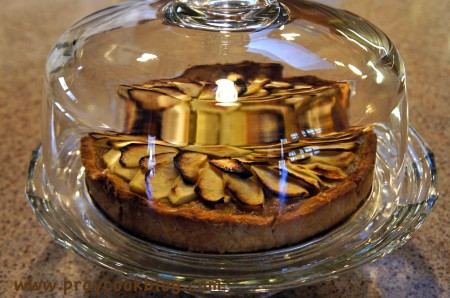 twd french apple tart crystal