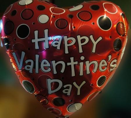 Happy V Day Balloon
