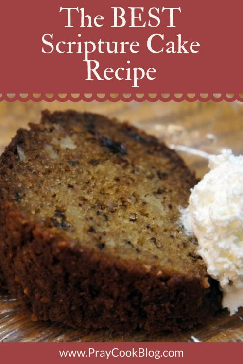 best scripture cake recipe