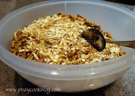 big bowl for granola