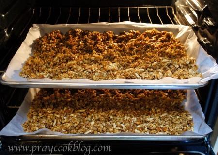 granola oven