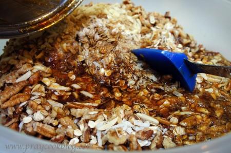 sugars on granola