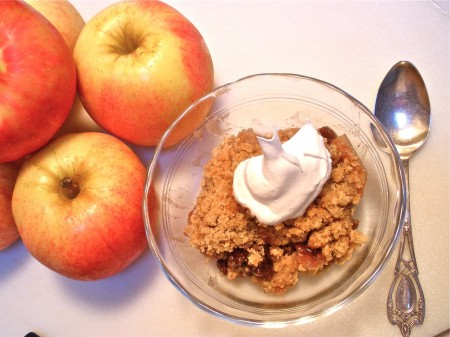 alice's apple crisp