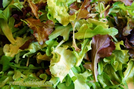lettuce cleaned