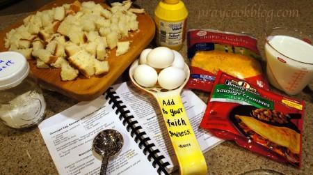overnight egg casserole