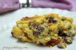 Overnight Egg, Sausage and Cheese Casserole