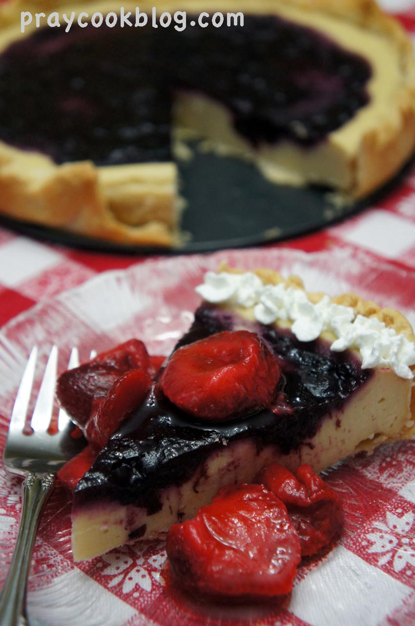 Baked Yogurt Tart from Baking With Julia Cookbook