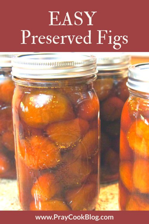 easy preserved figs