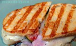 Ham and Fig Grilled Cheese