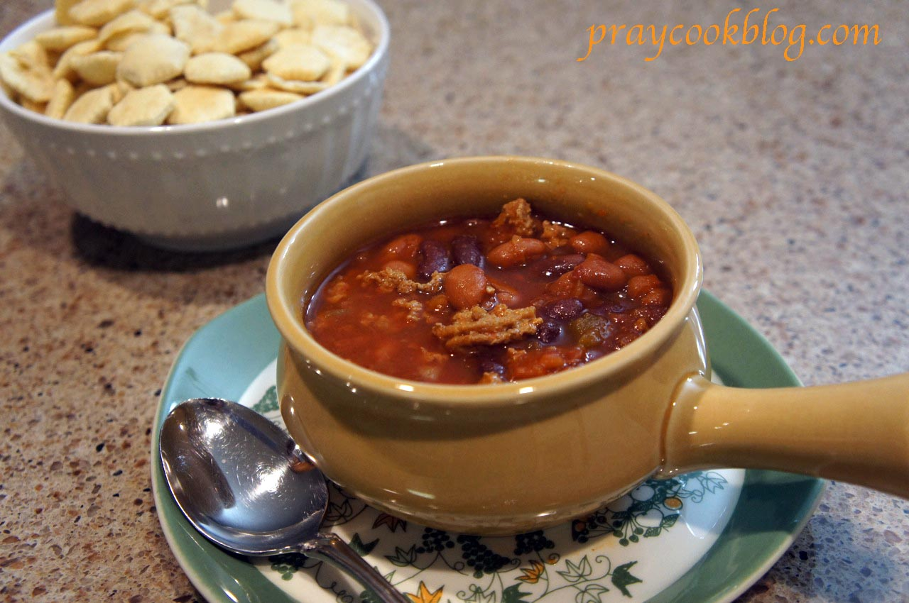 Homemade Chili Soup