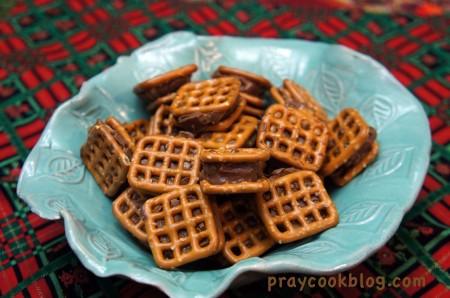 bowl of pretzels sweet salty