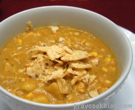 Chipotle Chicken Chowder
