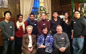 Christmas Tea with the International Students