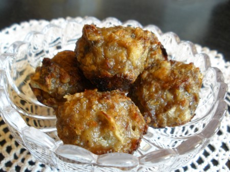 Unbelievably Delicious Apple Sage Sausage Balls