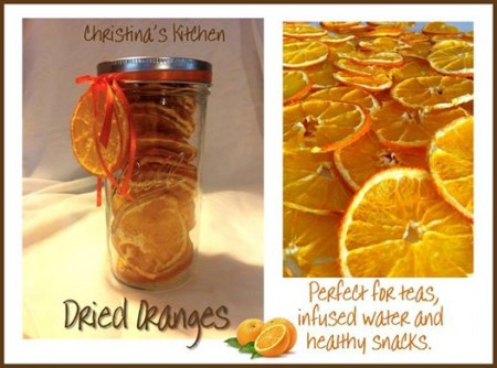 Christina's dried oranges