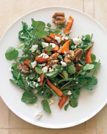 Martha Stewart salad watercress