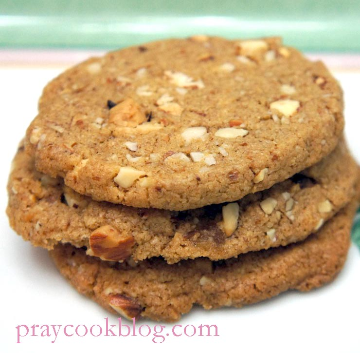 Whole-Wheat Almond Butter Sandwich Cookies