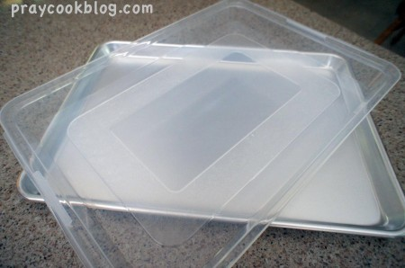 bakers half sheet lid