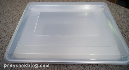 bakers half sheet w/lid