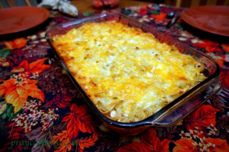 Divine Casserole tabled
