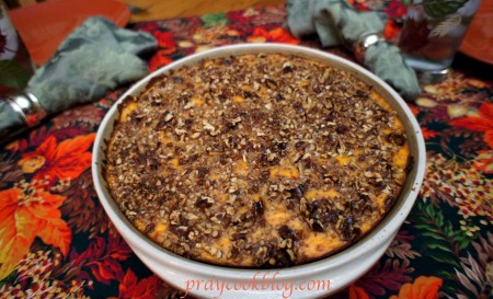 Tabled Sweet Potato Casserole