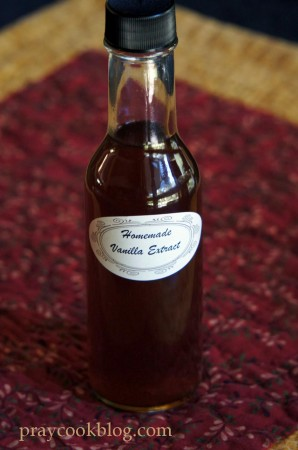 Vanilla clear bottle