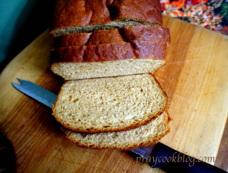Whole Wheat Bread Sliced