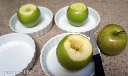 baked apples start