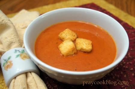 Cream of Fresh Tomato Soup II