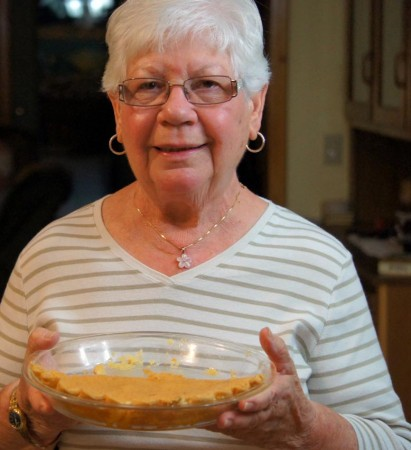 Phyllis and the chess pie
