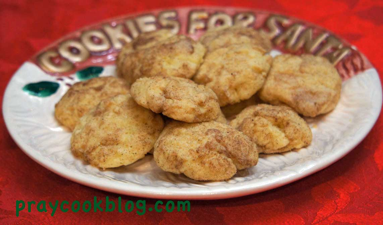 Snicker Doodle Cookies For Santa!
