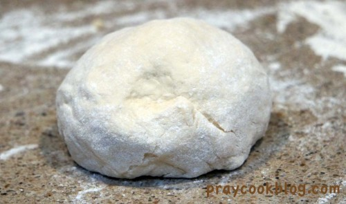 beautiful cracker dough