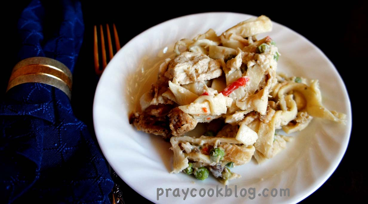 For The Love of My Family – Tuna Noodle Casserole