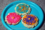 Sugar Cookie Flowers and Cyberspace Gremlins