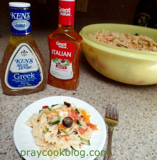 Greek and Italian Dressing for Pasta Salad