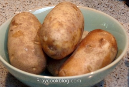 Potatoes to bake
