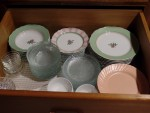 Dishes In A Drawer