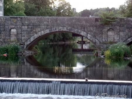 Water under bridge Kendal England